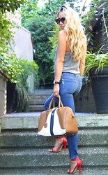 Cara McLeay - Paige Jeans - Carryall.