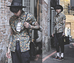 IVAN Chang - Mcving Black Leather Briefcase Satchel, Swearlondon Oxford Shoes - 020814 TODAY DR.MARTENS STYLE