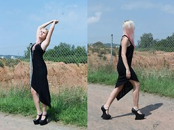 Susan Dollparts - Forever 21 Asymmetric Dress, Jeffrey Campbell High Heels - Nightwalk