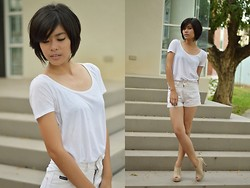 Bernadette Azcarraga - Mango Blouse, Friend's Own High Waist Shorts - Re-Birth