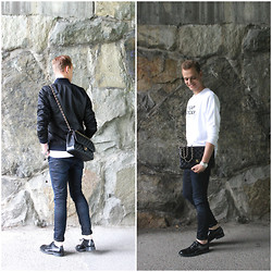 Kevin Geurts - Chanel 2.55, G Star Bomber Jacket, Cheap Monday Sweater, G Star Jeans, Acne Studios Shoes - See you soon STHLM