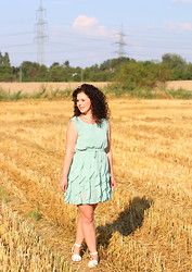 The S Signature - Sheinside Dress, Primark Sandals - Right across the field