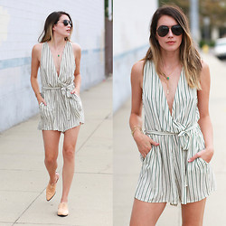 Brittany Xavier - Broke Girl Style Romper - Summer one piece