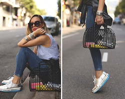 My Showroom Priscila - Swarovski Bracelet, H&M Bag, Swear London Shoes - Comfy and Casual