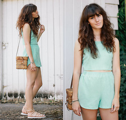 Tonya S. - Missguided Co Ord Set, Bc Footwear Off The Cuff Sandal - Double Mint