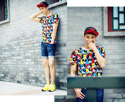 Chris Su - Adidas Cap, Forever 21 Top, Adidas Sneakers - Friday's Child