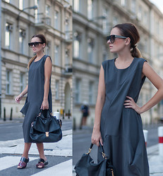 Kinga StyleOn -  - Gray dress, MORE: WWW.STYLE-ON.PL