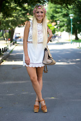 Ilda Hadzic - Choies Dress - Bohemian chic