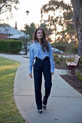 Jenelle Witty - Mens Shirt, Zara Trousers - Tailored