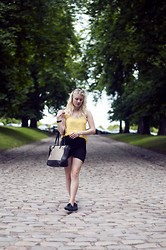 Lana Aleksandra -  - Less is more with black and yellow