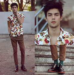 Vini Uehara - Soxy Socks, Guidomaggi Shoes, Stark Street Clothing Shirt - You Are My High
