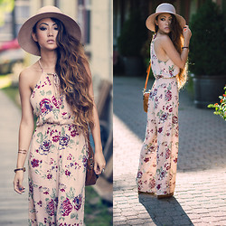 Jessica Wang - Faithfull The Brand Jumpsuit - SUN SOAKED BLISS