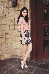 Tricia Gosingtian - Kate Katy Top, Mango Skirt, Sole Story Shoes - 080214