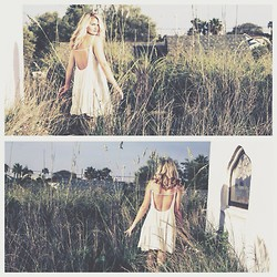 Abbie Jeane - Brandy Melville Usa Open Back Dress - Where the Wild Things Are