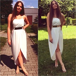 Eve Gore - Lookbookstore Dress - White