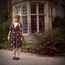 Sara Wolvin - Vintage Dress, Red Or Dead Shoes - To the Forest, Towards the Sea