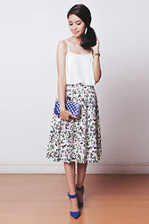 Tricia Gosingtian - The Blush Inc Top, The Blush Inc Skirt - 081114