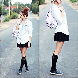 Nesairah Nesstyle - Choies Socks - BACK TO SCHOOL!