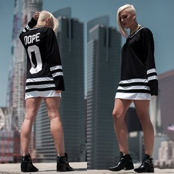 Samii Ryan - Dope Jersey, Forever 21 Shoes - On Top Of The World