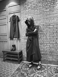 Hipsterken P - Hooded Coat, Pantskirt, Underground Creeper - Stay the same