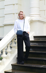 Lian G. - Acne Studios Jumper, Joseph & Stacey Bag, H&M Trousers - Sweater Weather