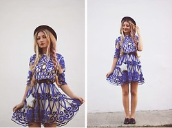 ♡Anita Kurkach♡ - Chic Wish Bag, Chic Wish Dress, Alisonman Shoes, Asos Hat -  No One Else Like You!