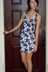 Liz - Iron Fist Clothing Skull Dress - This is the Life