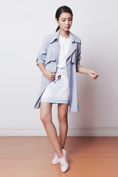 Tricia Gosingtian - Modekungen Coat, Oopsy Skirt, Le Bunny Bleu Oxfords, Kate Katy Top - 082114