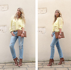 With Style andChic ' -  - Yellow &Jeans