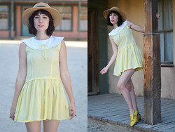 Amy Roiland - Modern Vice Shoes - Yellow Shoes? YUP