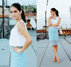 Alina Krasnaya - Zara Top, Diy Skirt, Mohito Necklace, T.Taccardi Heels, Parfois Earrings - BIRTHDAY GIRL