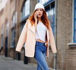 Ebba Zingmark - Monki Jacket, Brixtol Hat - PICK UP
