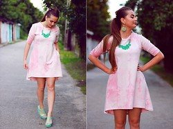 Eve Gore - Preska Dress - Pink