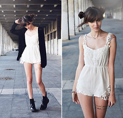 Milkwoman Johana - Choies Jumpsuit, Dr. Martens Boots - Ever fallen in love
