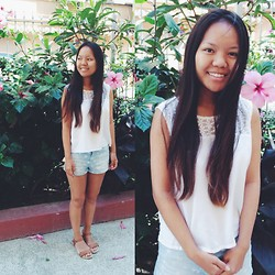 Manisha C.O - H&M White Top - Summer time sadness