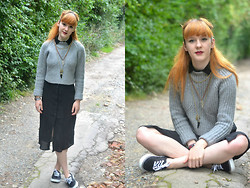 Ellie H - Zara Jumper, H&M Dress, Primark Shoes - Tiers