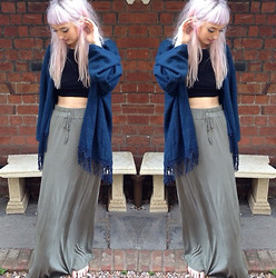 Pixie Gibbons - Asos, Kiss The Sky, Wonderland Clothing Crop Top - Bit Of Light