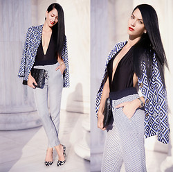 Konstantina Tzagaraki - Blazer, Pants - There's no limit to how complicated things can get..