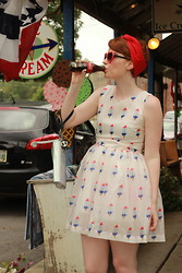 Cassidy Graves - Choies Popsicle Dress - Bomb Pop