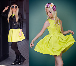 Oksana Orehhova - Yoyomelody Dress - TRY LIME!