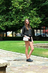 Judith Mateo - Zara Top, Zara Shorts, Mango Bag, Mango Shoes - We all need each other