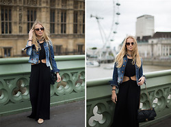 Isabella Scherer - Topshop Dress, Diesel Jacket, Chanel Bag, All Saints Necklace - London Calling