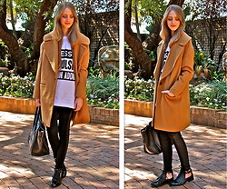 Nikki S - Céline Bag, Zara Coat - Obsessive Compulsive Fashion Addict