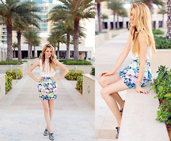 Kristin Ondocsin - Bp Collections Peplum Skirt, Urban Outfitters This Top Is Actually A Dress., Forever 21 Go To Shoes - Take me back.