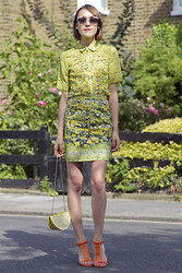Ella Catliff - Related Shirt, Related Skirt, Kate Spade Bag, Next Shoes - Tutti Frutti