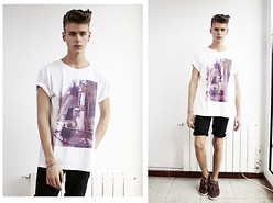 Blu Equis - Lilliesofthealley T Shirt, Tevin Vincent Bracalet, Topman Shorts - S I X