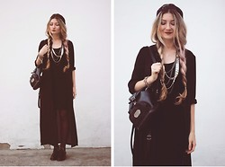 ♡Anita Kurkach♡ - Sheinside Black Trench, Celebindress Dress, Zealotries Shoes - Young Blood!