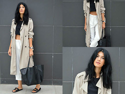 Savina Dos -  - Long Trench Coat