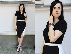 Magda M. - Simple Cp Skirt, Cubus Tshirt - Asymetria