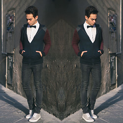 Ira Giorgetti - Topman Hoodie, All Saints Jeans, Topman Shirt, Asos Bowtie - The Walled Town